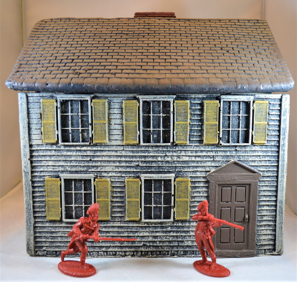 LOD/Barzso American Revolution White Two Story Colonial House