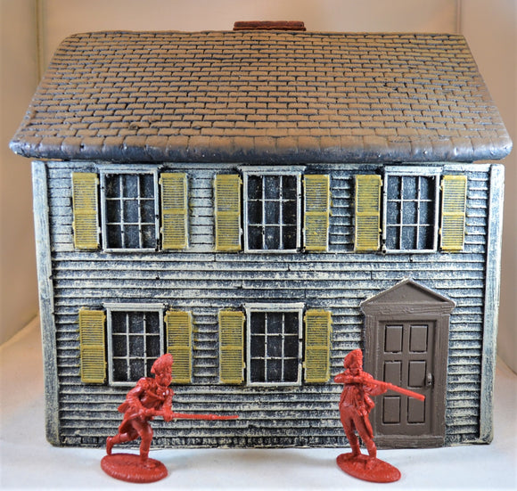 LOD Barzso American Revolution White Two Story Colonial House