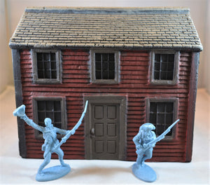 LOD (Barzso) American Revolution Colonial Saltbox House