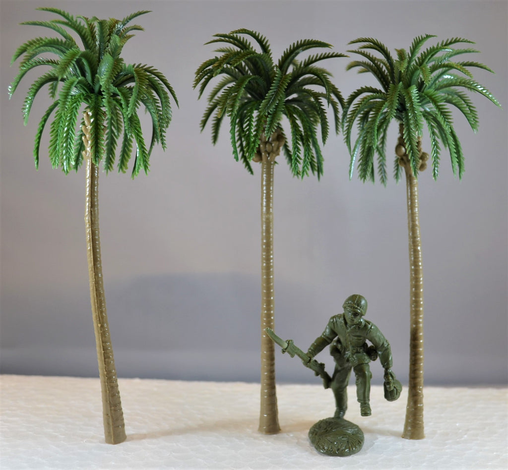 "6.25"" Plastic Palm Trees for Dioramas and Battle Scenes"