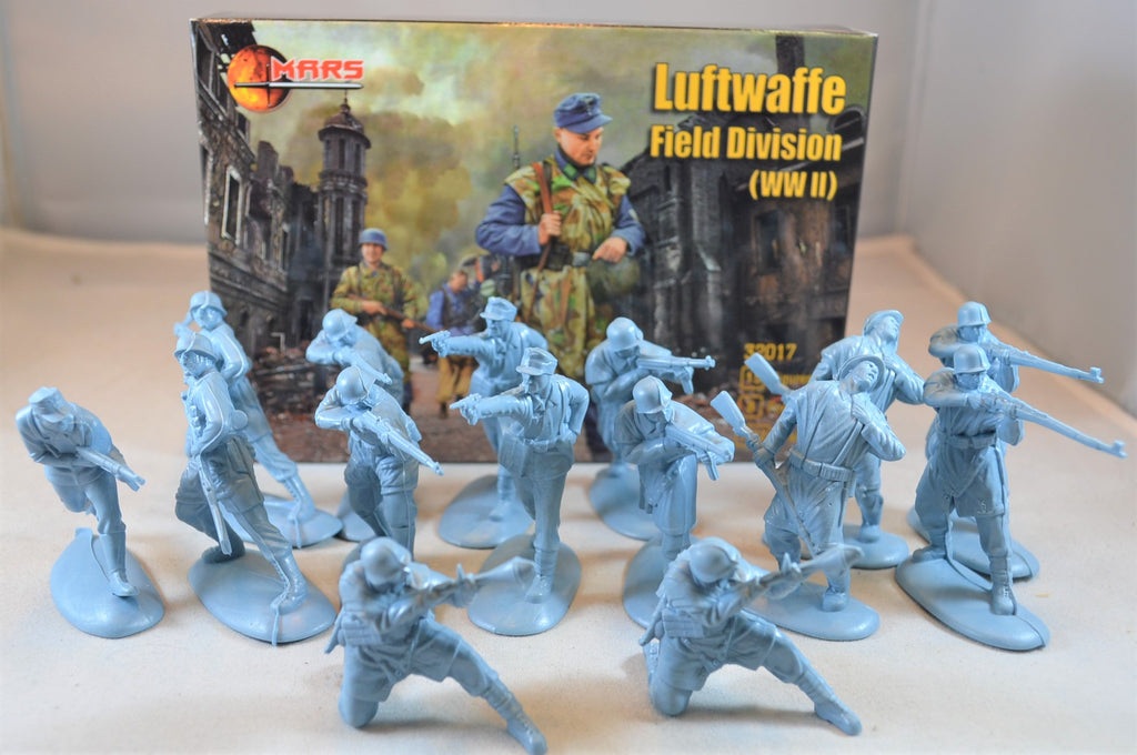 Mars WWII German Luftwaffe Field Division Troops