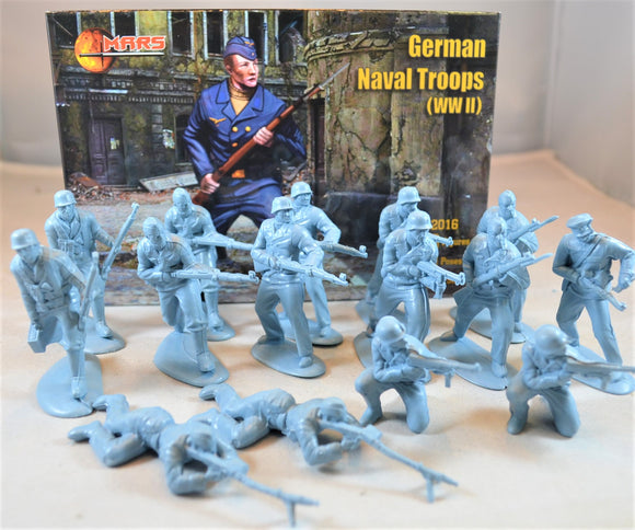 Mars WWII German Naval Troops