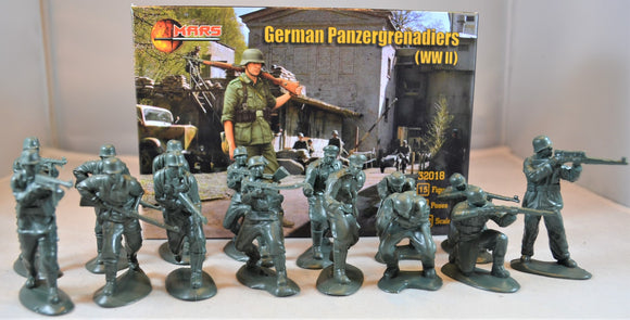 Mars WWII German Panzergrenadiers Infantry