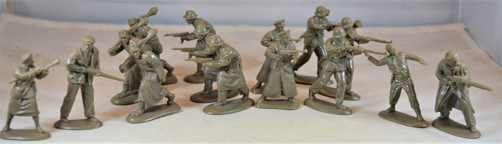 Mars WWII German Volkssturm Infantry Set Green/Olive Drab