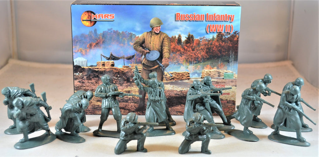 Mars WWII Russian Infantry Set