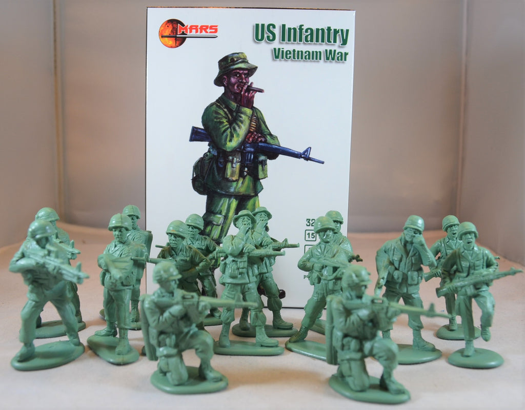 Mars Vietnam War US Infantry