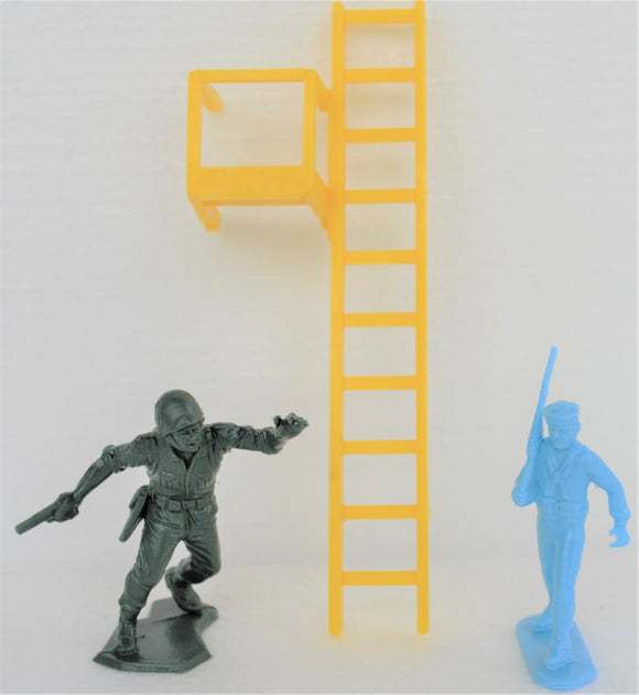Marx Training Center Army Barracks Ladder Yellow