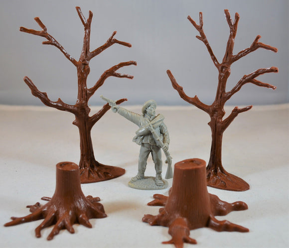Marx Trees Stumps Brown