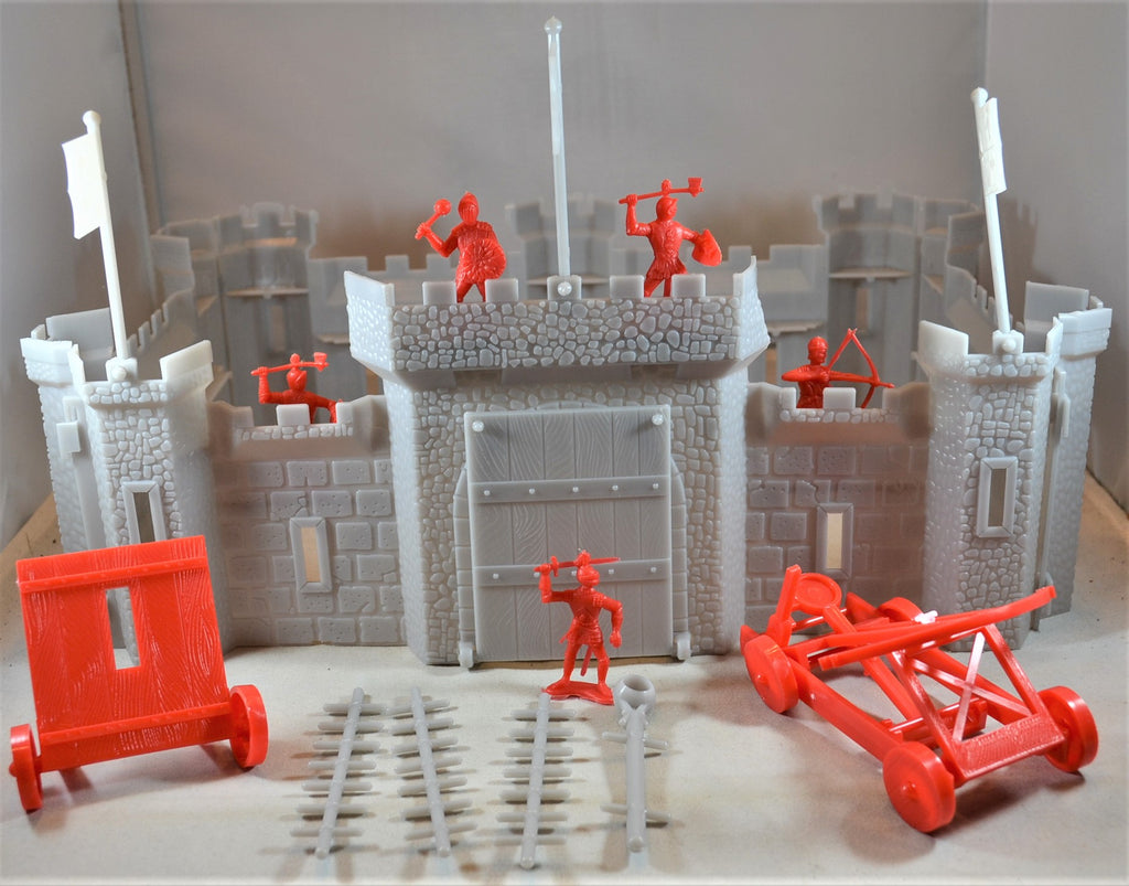 HG Medieval Castle and Accessories Knights Crusades 1/48