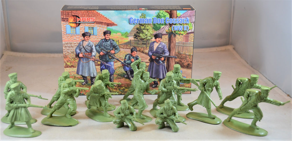 Mars WWII German Allies Don Cossack Infantry Set