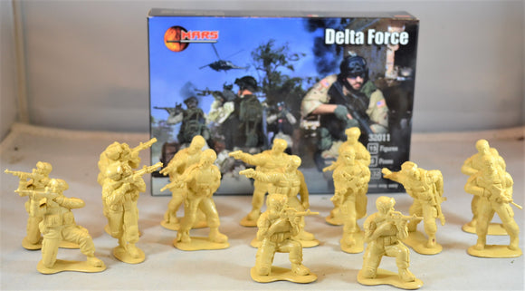 Mars US Delta Force Special Forces Airborne Toy Soldiers