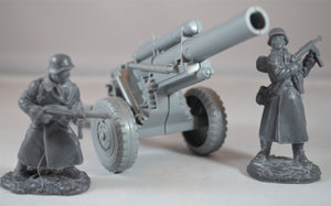 Marx WWII 155MM Howitzer Cannon Gray