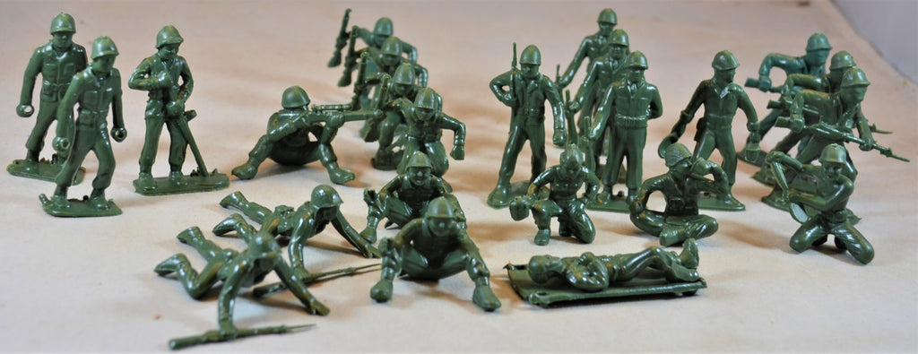 Marx WWII 2nd Series US GI's 45 MM Green