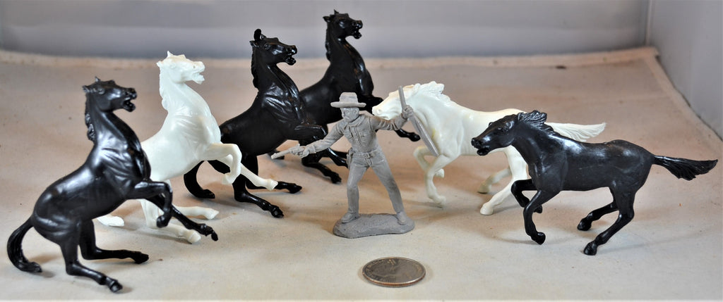 Marx Ben Hur Roman Horses Set of 6
