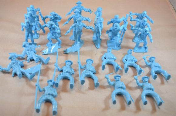 Marx US Cavalry Pioneers Light Blue