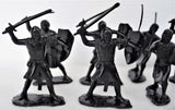 Marx Medieval Knights Crusaders 60MM Black