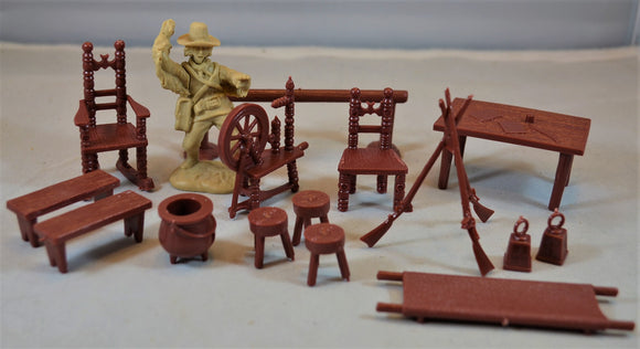 Marx American Revolution War Accessories