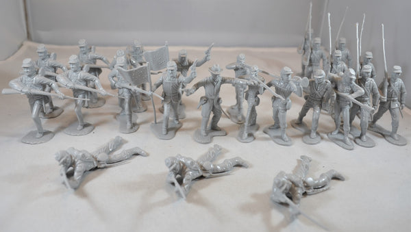 Marx Civil War Union Infantry in GRAY