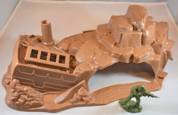 Marx Undersea Shipwreck Cave Brown