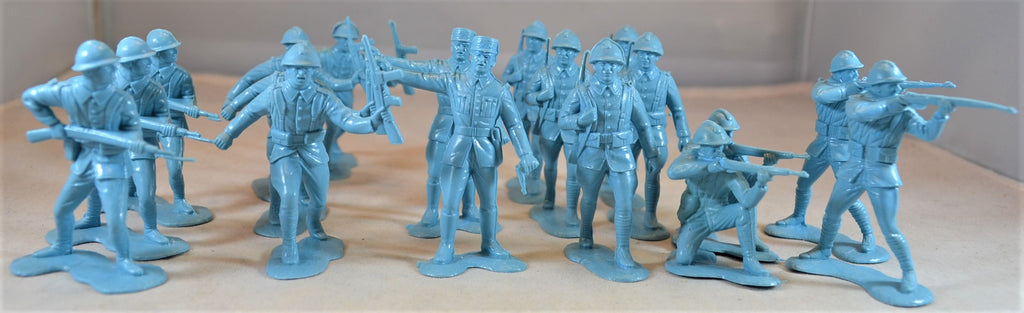 Marx WWII French Infantry