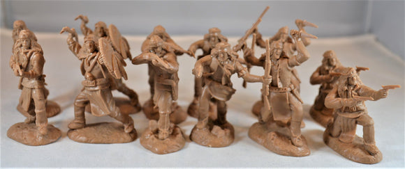 Paragon Apache Indian Warriors Set 2 Buckskin