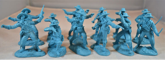 Paragon US Cavalry Soldiers Set 1 Light Blue