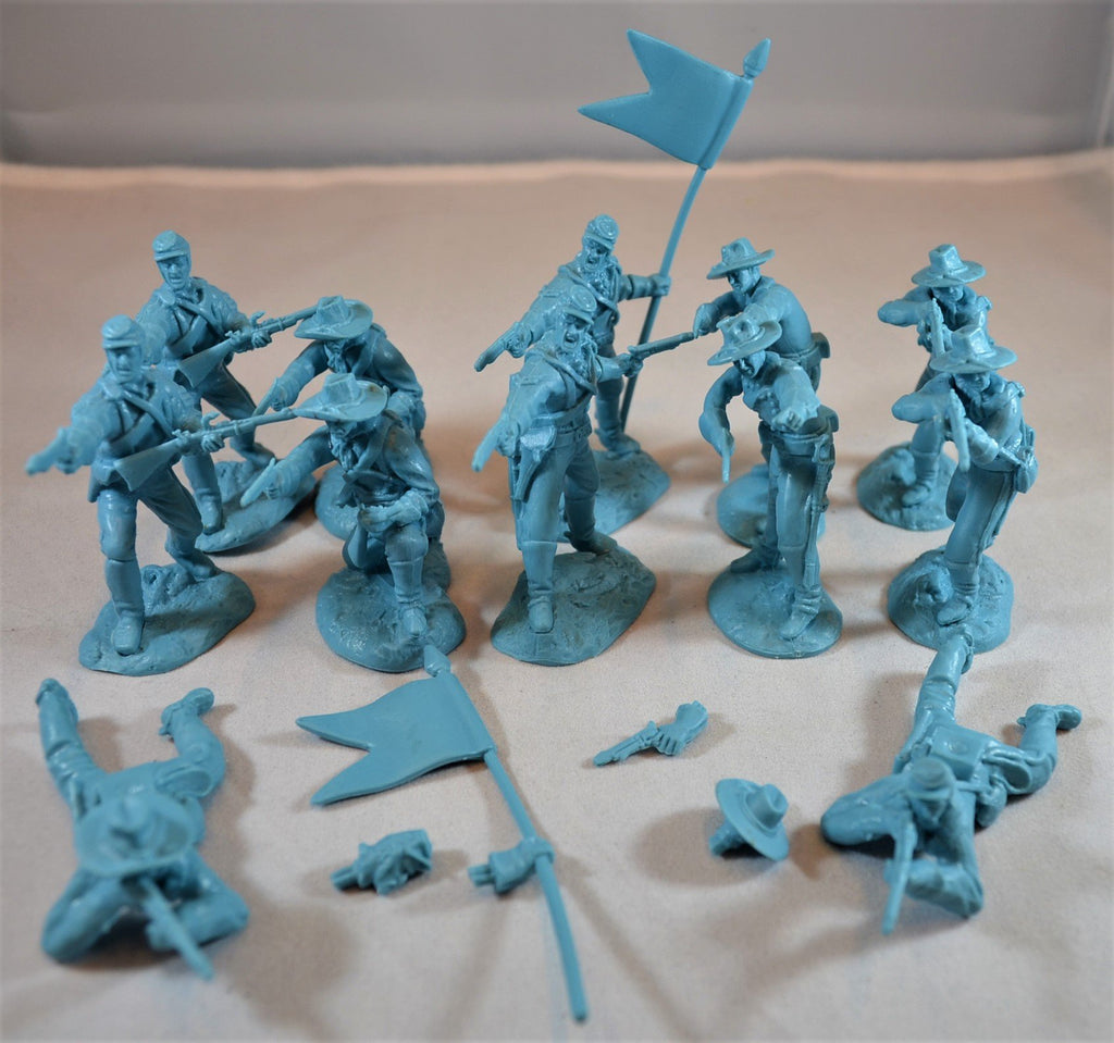 Paragon US Cavalry Soldiers Set 2 Light Blue