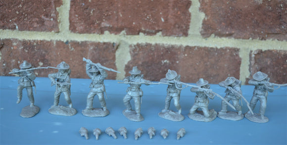 Paragon Civil War Confederate Infantry Set 1 & 2 Gray
