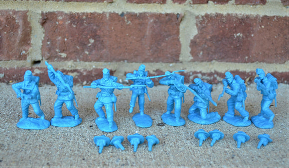 Paragon Civil War Union Infantry Set 1 & 2 Blue
