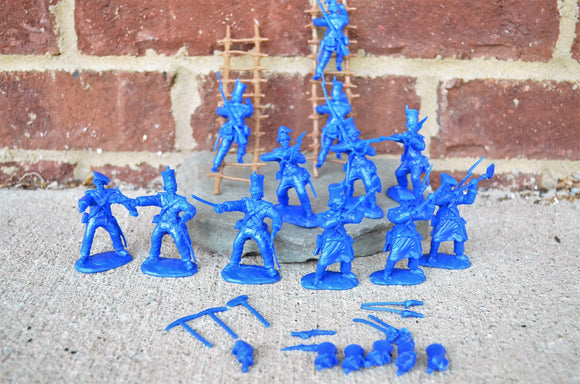 Paragon Alamo Mexican Regulars Infantry Set 2 Medium Blue