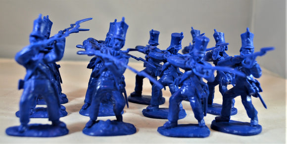 Paragon Alamo Mexican Regulars Infantry Set 1 Medium Blue