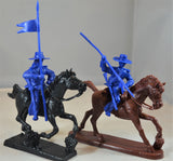 Paragon Alamo Mexican Cavalry and Infantry Set 3 Medium Blue
