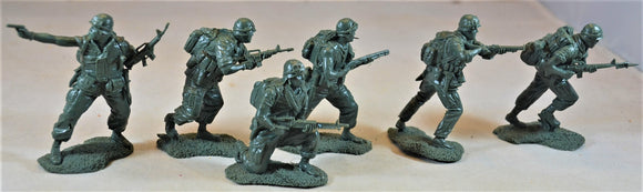 Plastic Platoon Vietnam War US 25th Infantry Division Toy Soldiers