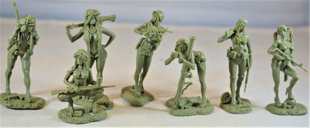 Plastic Platoon Vietnam War Showgirls Playboy Models Photoshoot