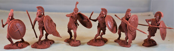 Publius Greek Hoplites Spartans 300 Leonidas Toy Soldiers