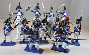 Sunjade Painted French Infantry Cavalry
