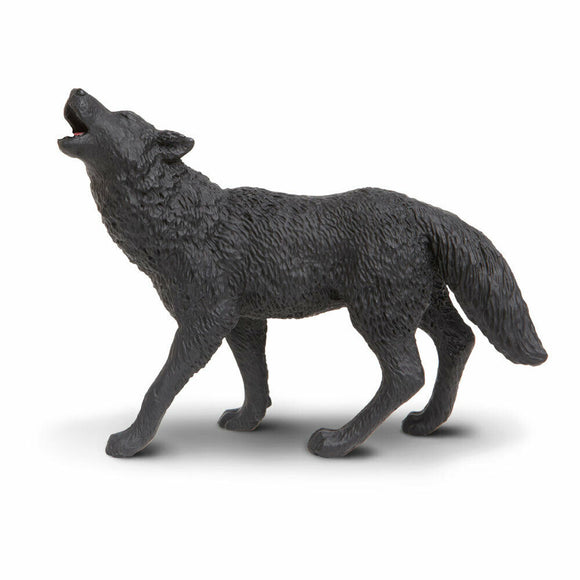 Safari Ltd. Painted Black Wolf
