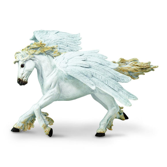 Safari Ltd. Painted Pegasus Majestic Flying Horse Figure