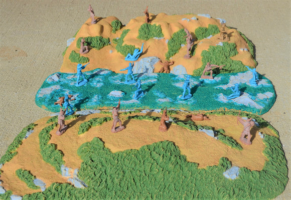 TSSD Painted Rio Grande Diorama Set - 3 Pieces - TS108