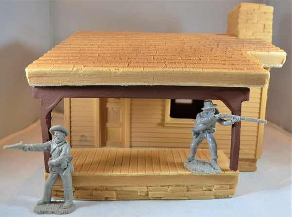 "TSSD ""The Duke"" Cabin/House Unpainted TS-112UN"