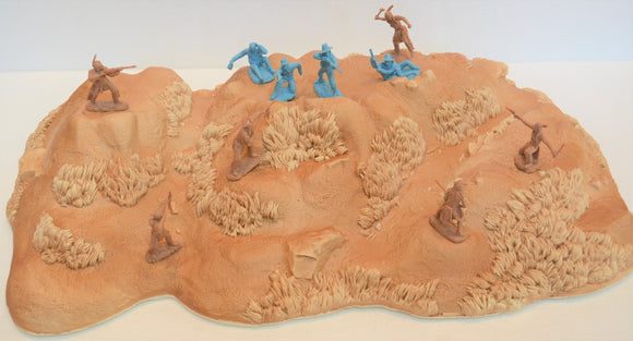 Toy Soldier of San Diego TSSD Unpainted Reno Hill Terrain Piece TS126UN