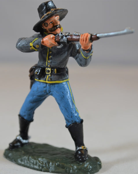 TSSD Painted Figure 2 from Confederate Artillery Cavalry Wounded Set #12