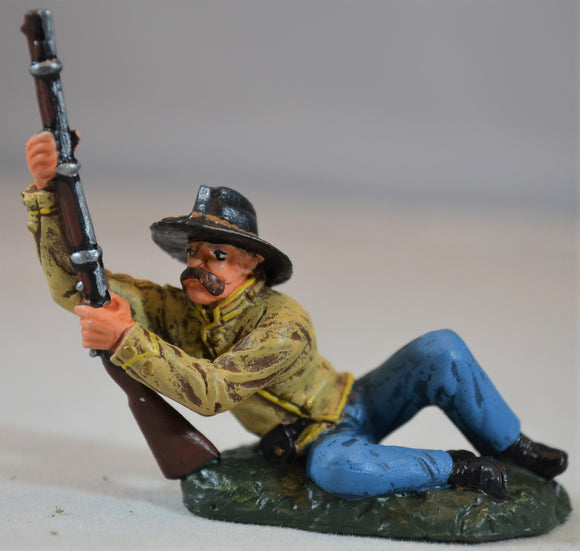 TSSD Painted Figure 3 from Confedrate Artillery Cavalry Wounded Set #12