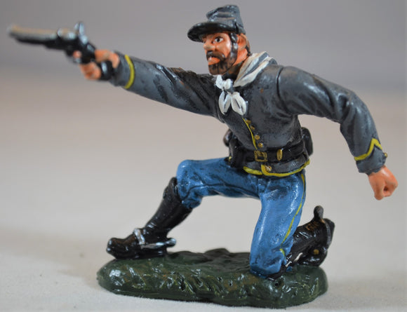 TSSD Painted Figure 4 from Confederate Artillery Cavalry Wounded Set #12