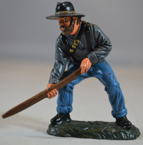 TSSD Painted Figure 5 from Confederate Artillery Cavalry Wounded Set #12