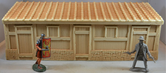TSSD Roman Barracks Building TS140 Unpainted Sand/Tan
