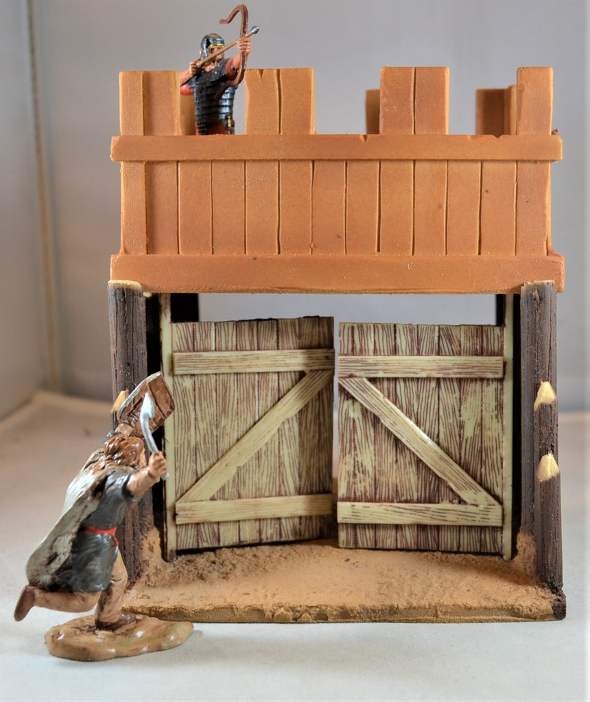 TSSD Painted Roman Marching Fort Gate TS148