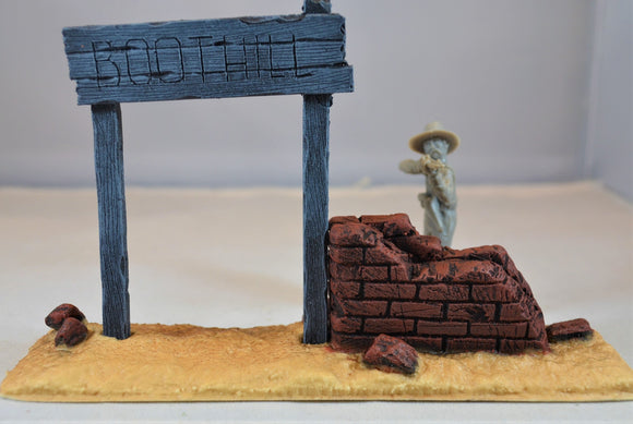 TSSD Painted Boothill Cemetery Entrance TS201
