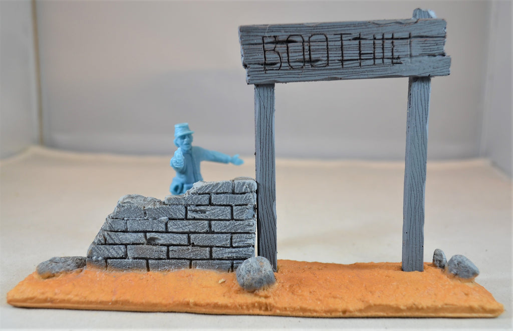 TSSD Painted Boothill Cemetery Entrance TS201 Gray