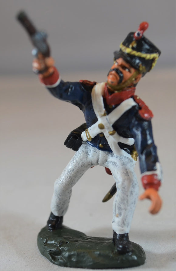 TSSD Painted Figure 3 Hand to Hand Alamo Mexican Set #25